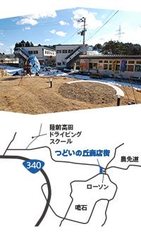 高田大隅商店街マップ